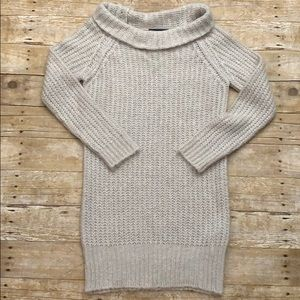 Zara Long Knit Cowl Neck Sweater